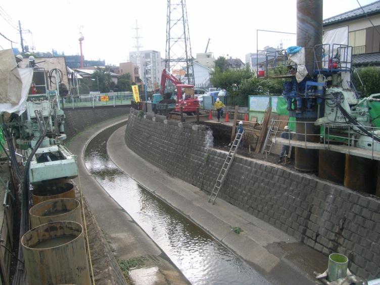 妙正寺川整備工事